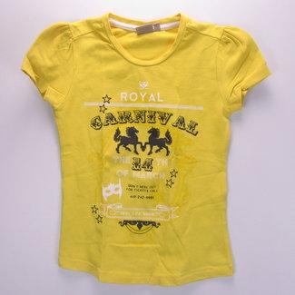 WE T-shirt in het geel (122/128)