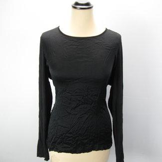 Uno due Zwart shirt met lange mouwen (40)