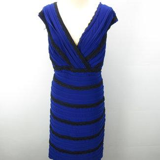 Adrianna Papell Blauwe cocktail jurk (XXL)
