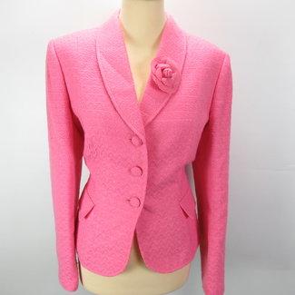 Tahiri Arthur S. Levine Roze dames set blazer+rok (L)