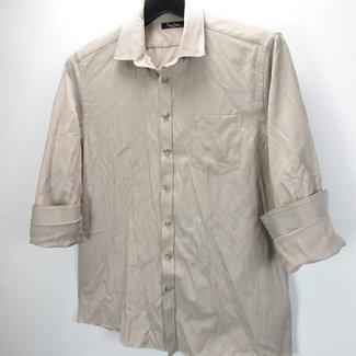 Pierre Cardin Beige Overhemd (M)