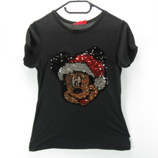 Disney Kerst T-shirt mickey mouse (152cm)