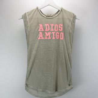 Garcia Jeans Meisjes T-shirt met kapmouwtjes (140/146)