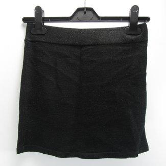 H&M Zwart rokje met kleine glitter(146/152)