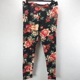 MS Mode Zomer legging met bloemen (XL)