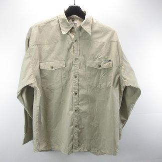 Bram's Paris Beige heren blouse(XL)