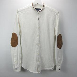 Zara Heren crèm overhemd slim fit (M)