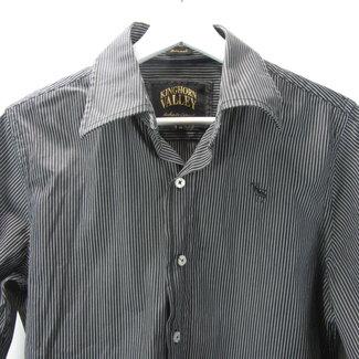 Kinghorn Valley Streept overhemd (M)