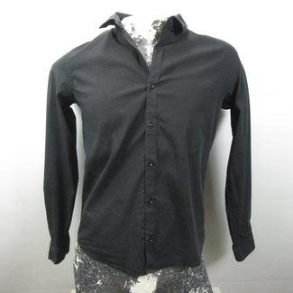 Zara Zwarte overhemd superslim fit (L)