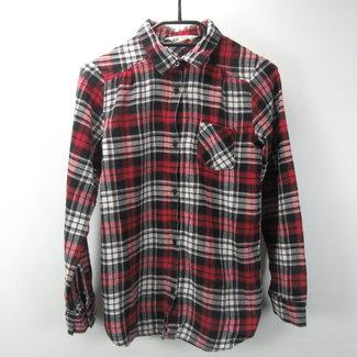 H&M Geruite rode jongensblouse (156)