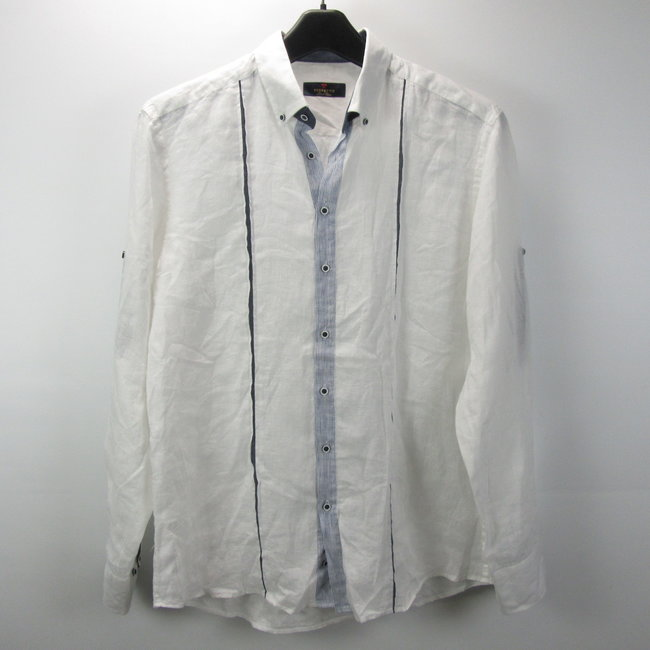 Perfetto Witte herenblouse (L)