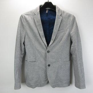 Blue French Market Grijze heren blazer (S)