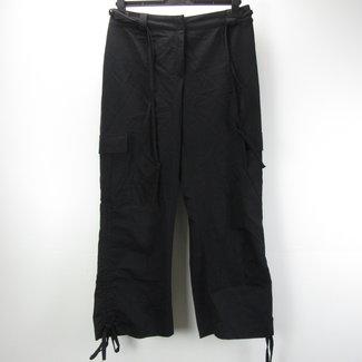 Ekol Zwarte damesbroek met rechte pijpen (38)