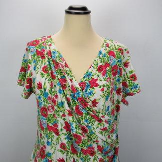 NED Bloemen zomer jurk (XL)