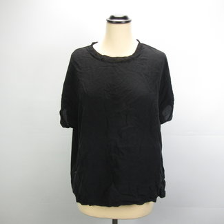 Emotions Zijde Zwarte Shirt (40)