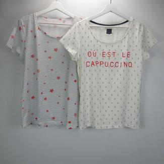 Bien Blue 2 Setje Shirt (L)