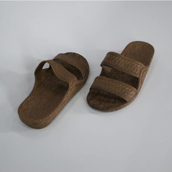 Lederen slippers (40)