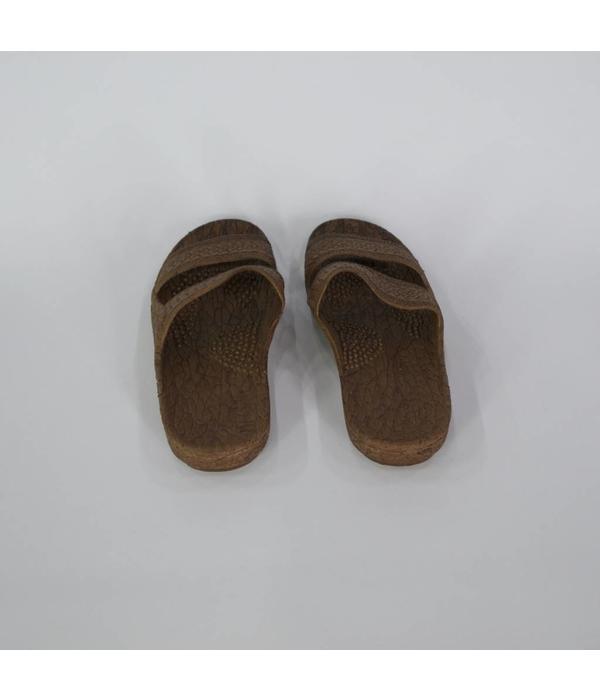 Tientje of minder Lederen slippers (40)