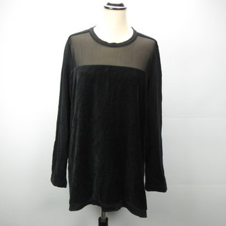 Suede look Blouse (XL)