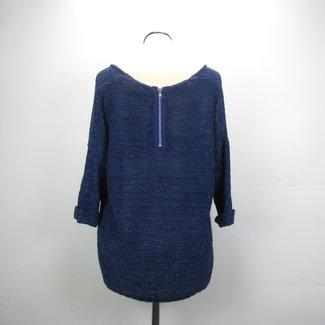 Zaatxchi Gehaakte trui met driekwart mouwen(M)