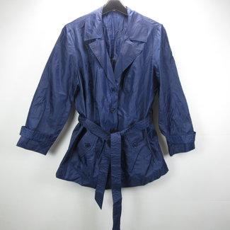 Donkerblauwe dames regenjas (52)