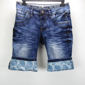 Jaylvis Jeans Heren korte broek (W30)