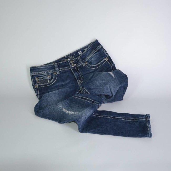 Tientjes Spijkerbroek met gaten (38)