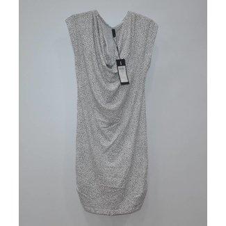 Vero Moda Wit gestippelde jurkje NIEUW (S)