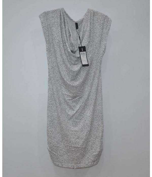 Vero Moda Wit gestippelde jurkje, helemaal nieuw (S)
