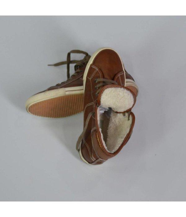 Tientje of minder Warme bruine sneakers (39)
