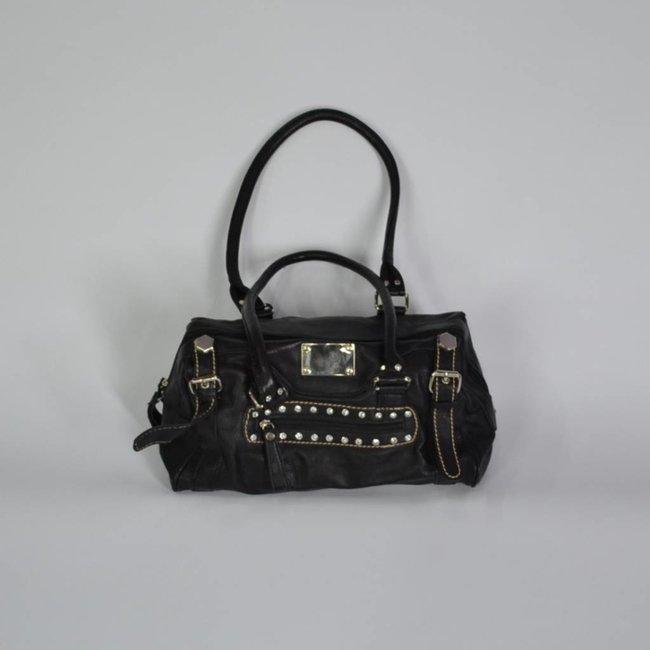 Tientjes Handtas (zwart)