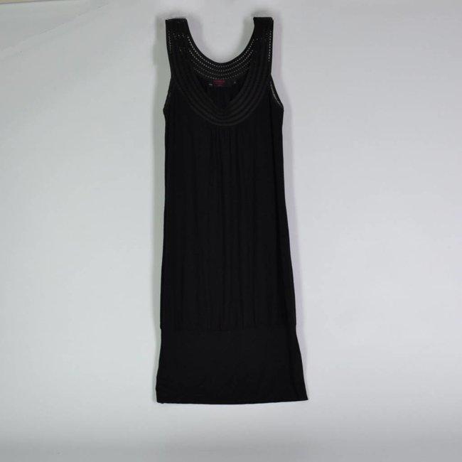 Tientjes Zwarte jurk (S)