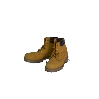 Pier One Pier One geel/bruine lace boots (41)