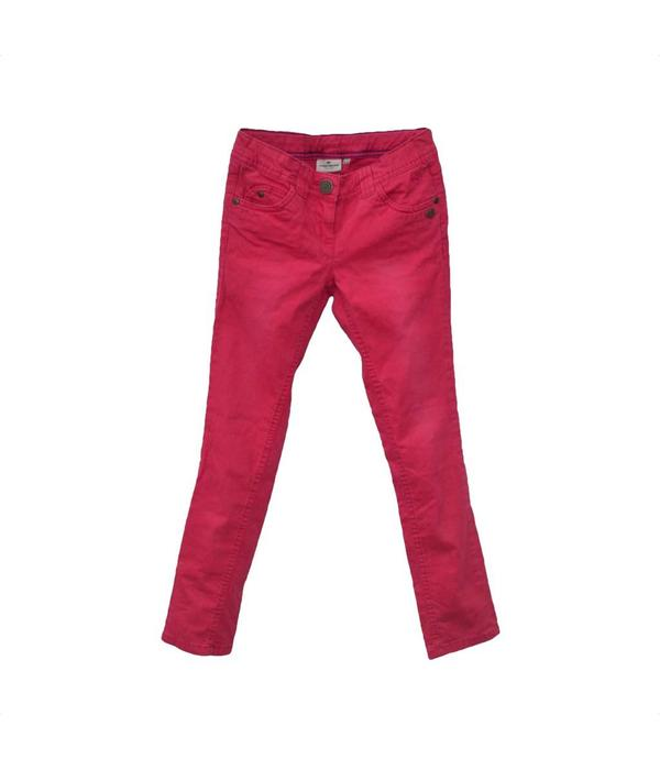 Tom Tailor Roze kinderbroek (134, S/XS)