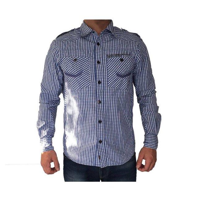Tientjes Capsize Denim overhemd (M)