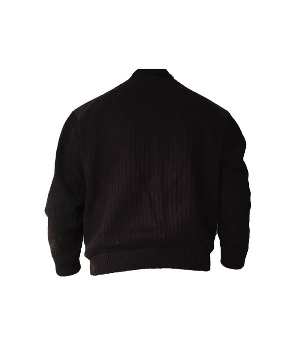 Tientje of minder Zwarte vest (L)
