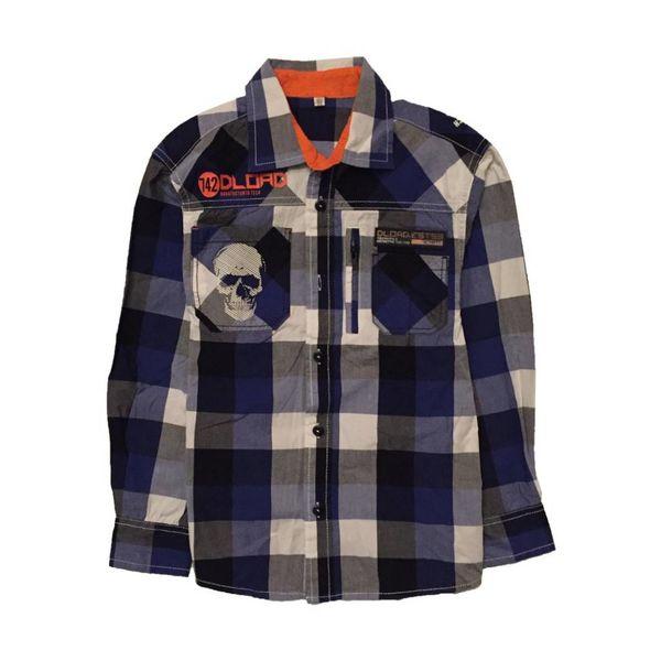 Stoer overhemd (122/128)