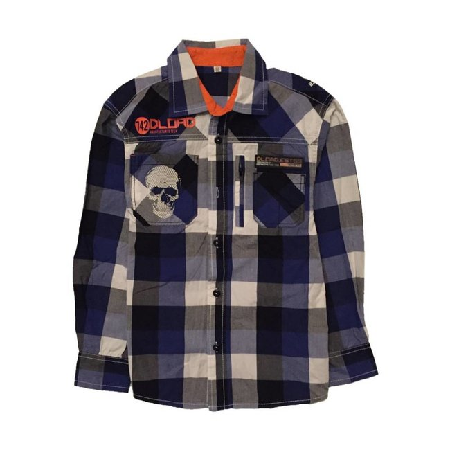 Tientjes Stoer overhemd (122/128)