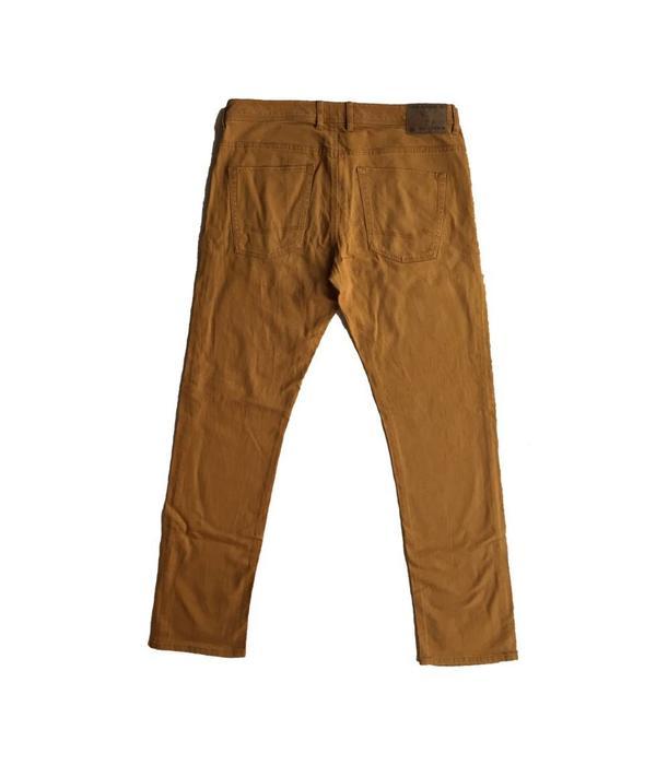 C&A Bruin/gele jeans (W38/L34)
