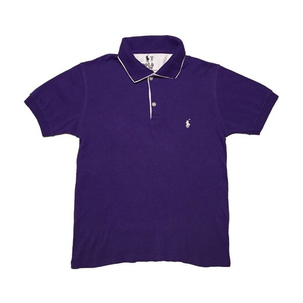 Paarse polo (S)