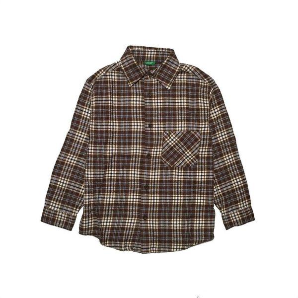 Geruit overhemd (116/122)