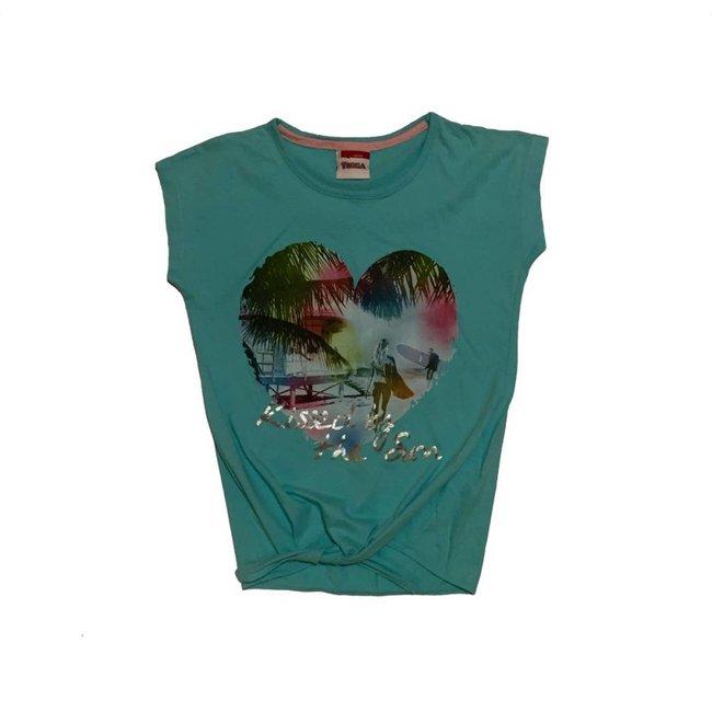 Yigga Mouwloos shirt (146-152)