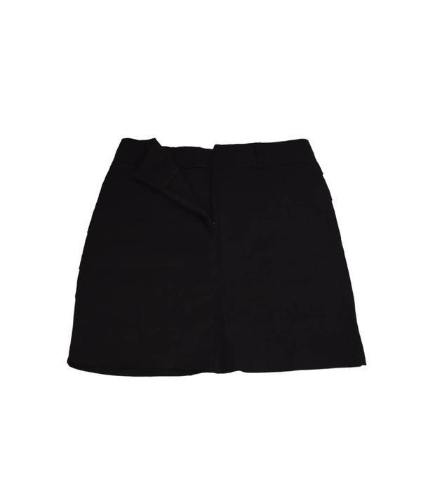 Tientje of minder Zwarte rok (XL)