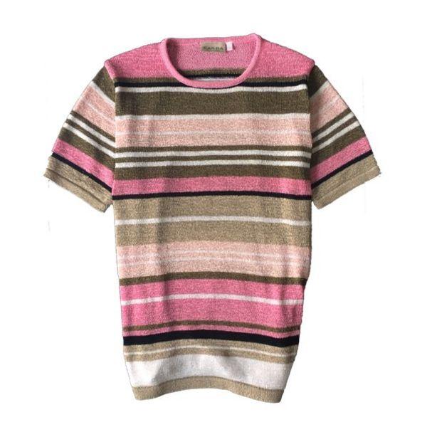 Zomerse trui met korte mouwen (L)