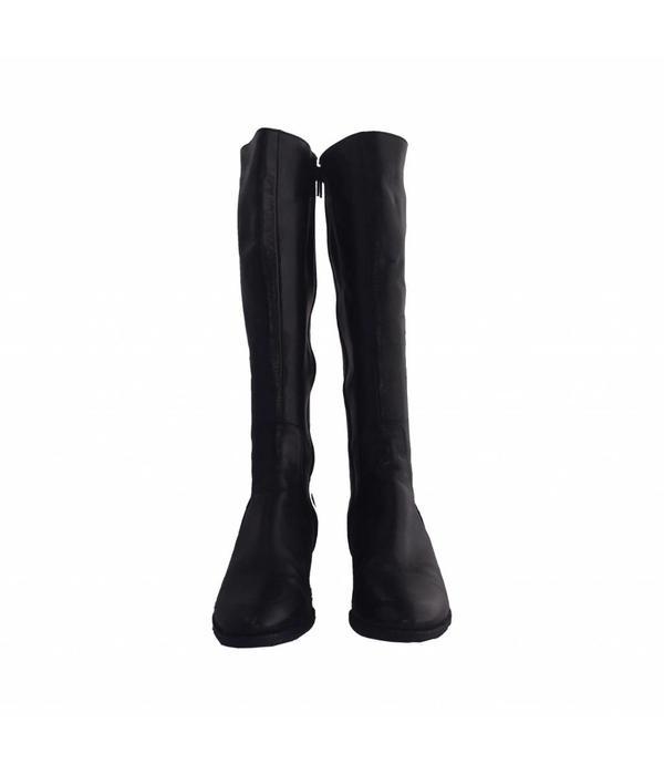 Tientje of minder Zwarte laarzen (38,5)