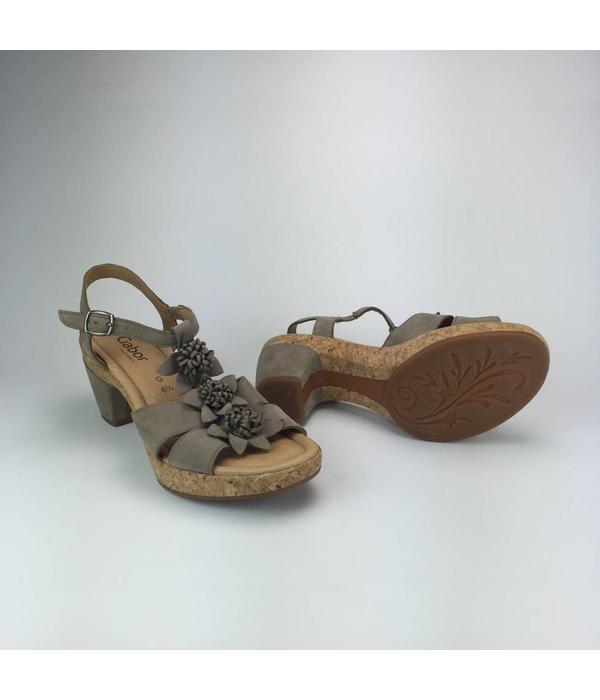 Gabor Sandalen met blokhak (40)