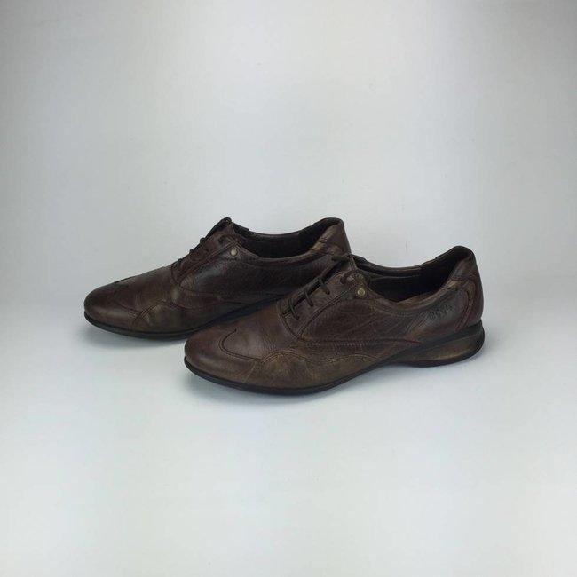 ECCO Bruine lederen Ecco sneakers (42)