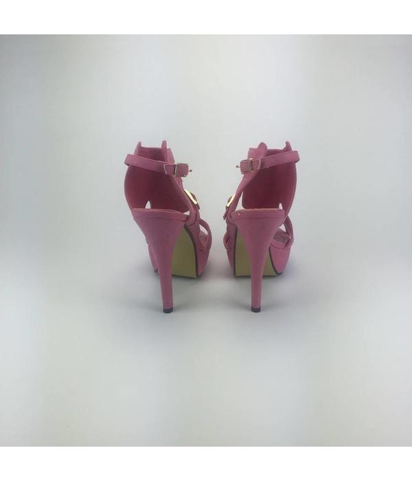 Tientje of minder Roze pumps (36)