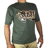 Fishbone Olijfgroene T-Shirt (NIEUW)