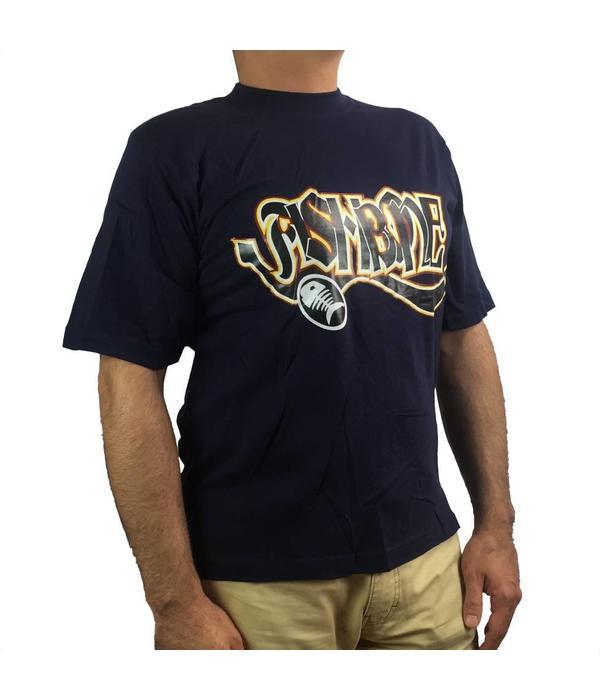Fishbone Donkerblauwe T-Shirt (NIEUW)